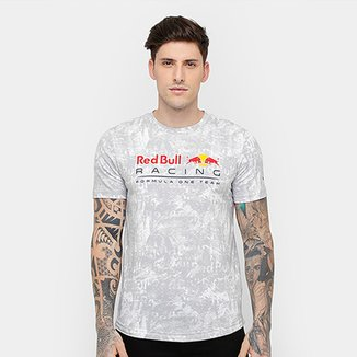 74b255abef Camiseta Puma Red Bull Racing Allover Masculina