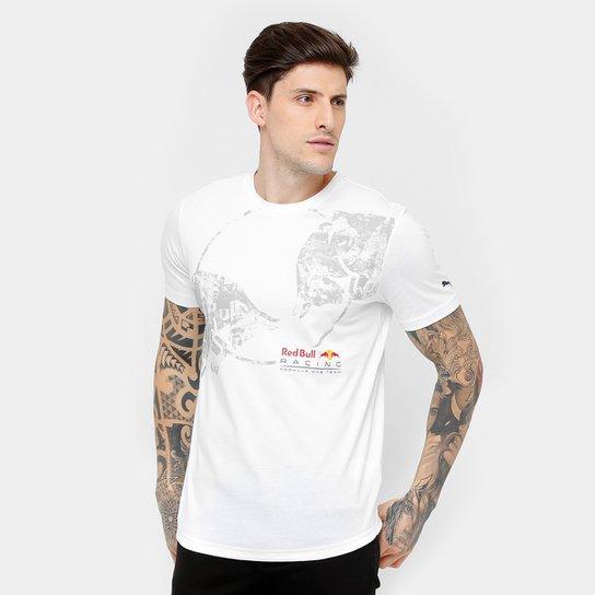 Camiseta Puma Red Bull Racing Graphic Masculina - Compre Agora  d430a1fda43