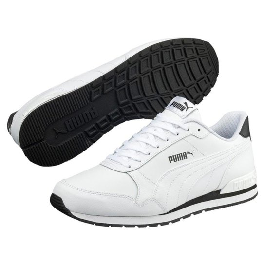 89e999b6a4c Tênis Puma ST Runner V2 Full L Masculino - Branco - Compre Agora ...