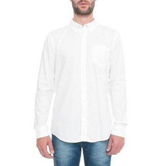 b2e9bd130 Camisa Timberland Manga Longa Pleasant River Oxford