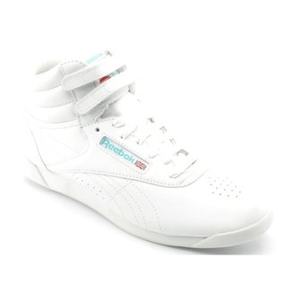 b0e075f9e2ea8 Tênis Reebok Freestyle Hi Branco Fshi 1619