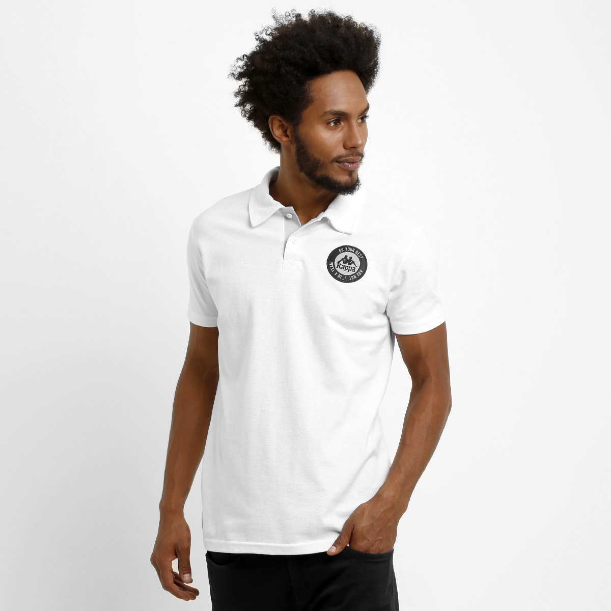 Camisa Polo Kappa Stamp c87d76463a27e