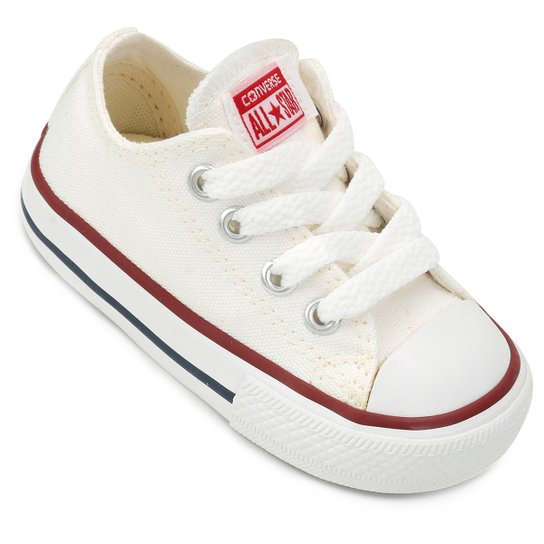 922a2b4afe9 Tênis Infantil Converse Chuck Taylor All Star Baby - Off White ...