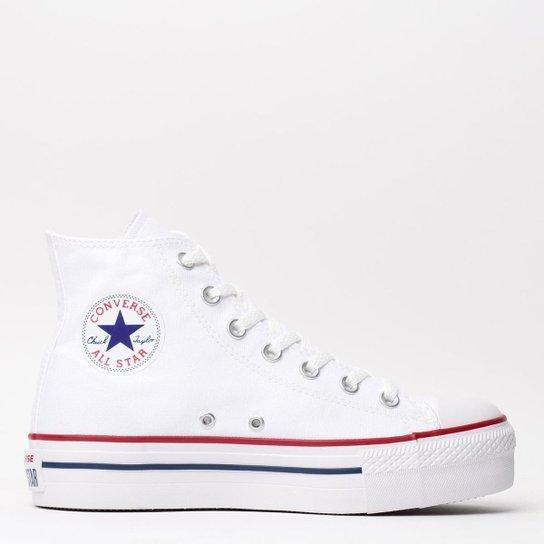 46c4b2988d5 Tênis Converse Chuck Taylor All Star Platform - Branco - Compre ...