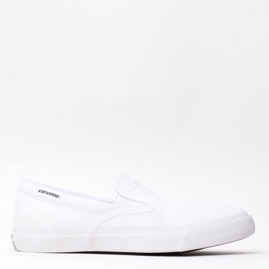 61744c877e7c Tênis Converse All Star Core Slip Branco Branco C - Compre Agora ...