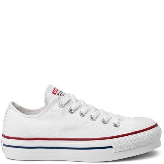 Tênis Converse Chuck Taylor All Star Platform - Branco - Compre ... 158f226dbcfb9