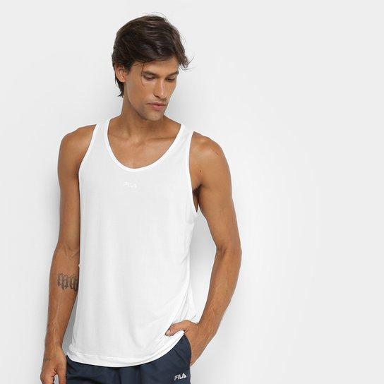 Regata Fila Basic Light 2 Masculina - Branco - Compre Agora  0d5b987d0fa