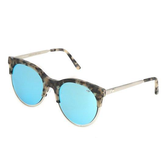 9ce67c02dede4 Óculos Mormaii Gatinho Espelhado Feminino - Prata - Compre Agora ...