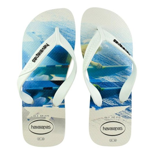 d96ba0301 Chinelo Havaianas Surf Masculino - Branco | Zattini