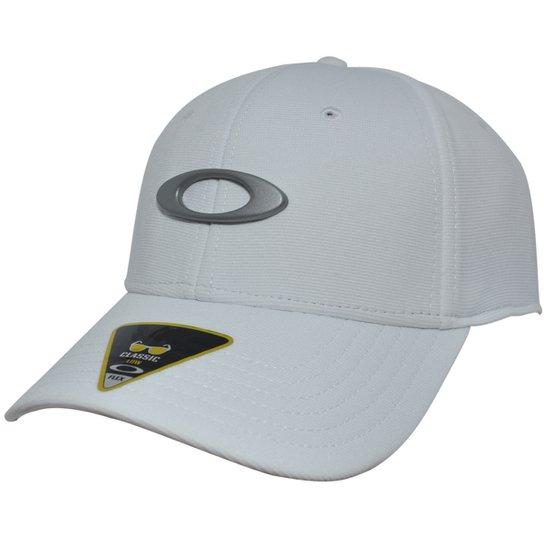 4dfc20319a781 Boné Oakley Tincan White Grey - Compre Agora