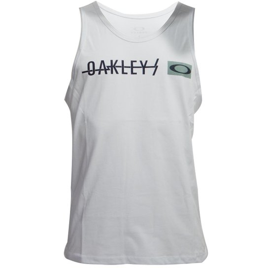 ba4a860d97 Regata Oakley Frizzly Tank Masculino | Zattini