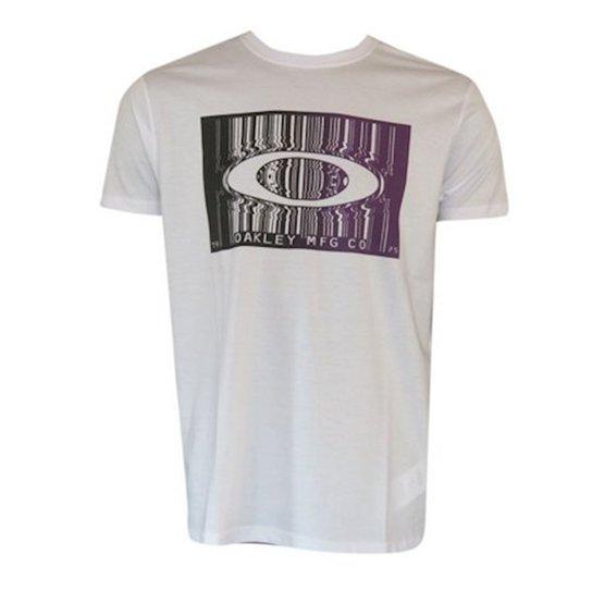 Camiseta Bar Code Tee Oakley Masculina - Compre Agora  72437fe3cfac9