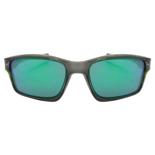 8724c4642 Óculos de Sol Oakley Chainlink OO9247 - Grey Smoke W/Jade Iridium - Cinza+
