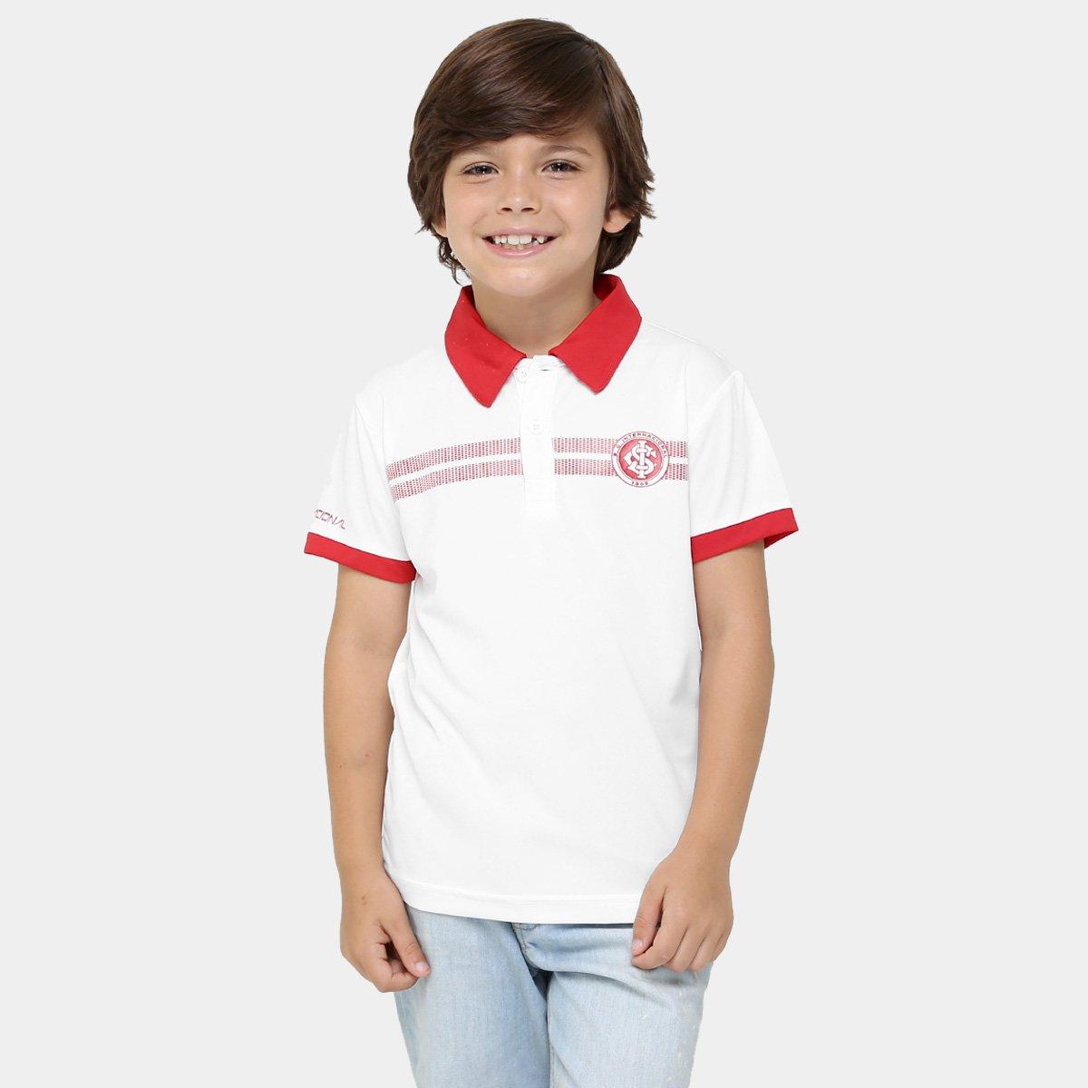 Camisa Polo Infantil Internacional