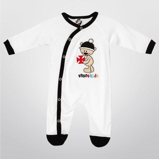 Macacão Vasco Bebê Botões Infantil - Compre Agora  e63823d920a1e