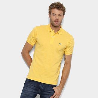 99b03974fa4 Camisa Polo Lacoste Original Fit Masculina