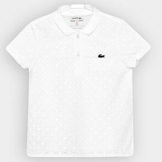 Camisa Polo Lacoste Infantil 6958772deda16