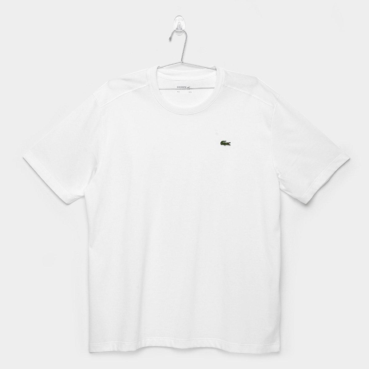 374c6af58f Camiseta Lacoste Gola Careca