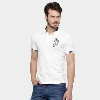 a4f3af045fb07 Camisa Polo Lacoste Piquet Fancy