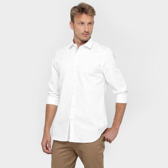 c381908a9 Camisa Lacoste Lisa Manga Longa - Compre Agora