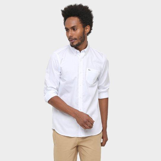 d741cbef5 Camisa Lacoste Manga Longa Bolso - Compre Agora