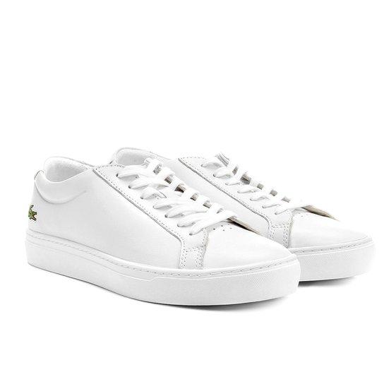 dce50b62f9123 Sapatênis Couro Lacoste Sportswear Masculino - Compre Agora