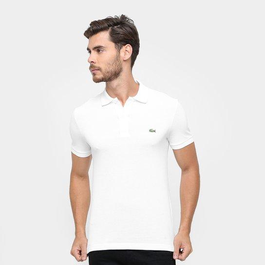 a71f53801 Camisa Polo Lacoste Piquet Slim Fit Masculina - Compre Agora