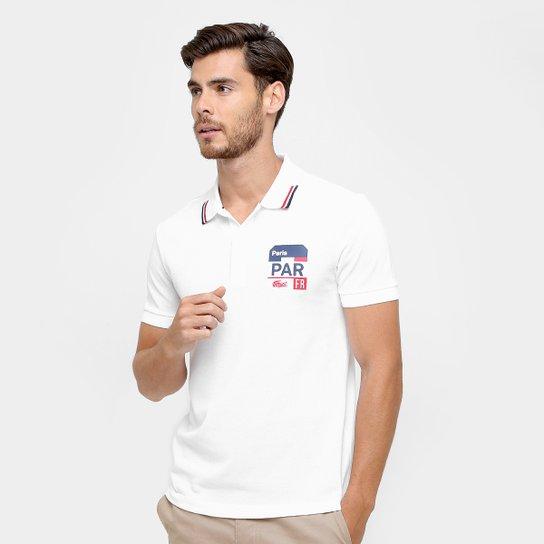 6ef93d05764 Camisa Polo Lacoste Piquet Fit Paris Masculina - Compre Agora