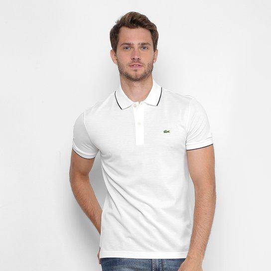dad529967bb0d Camisa Polo Lacoste Piquet Slim Masculina - Compre Agora