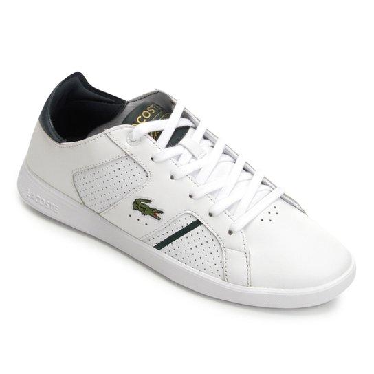 Tênis Lacoste Novas Ct 118 Masculino - Branco - Compre Agora   Zattini e89a0f3585