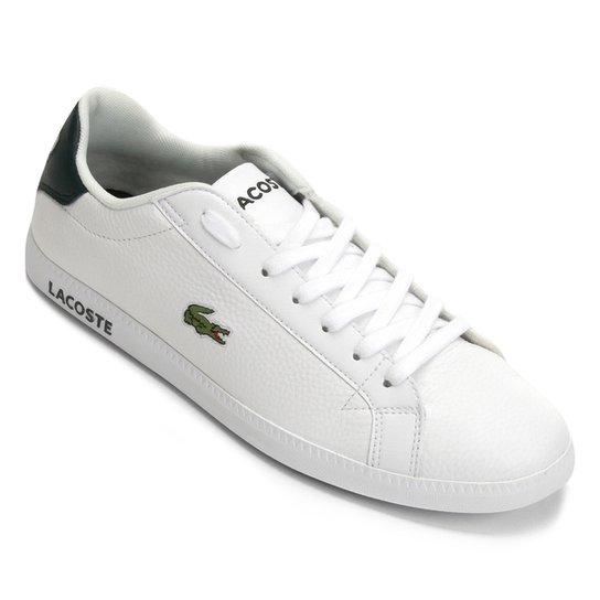 Tênis Lacoste Graduate Masculino - Branco - Compre Agora   Zattini 6e1390d118