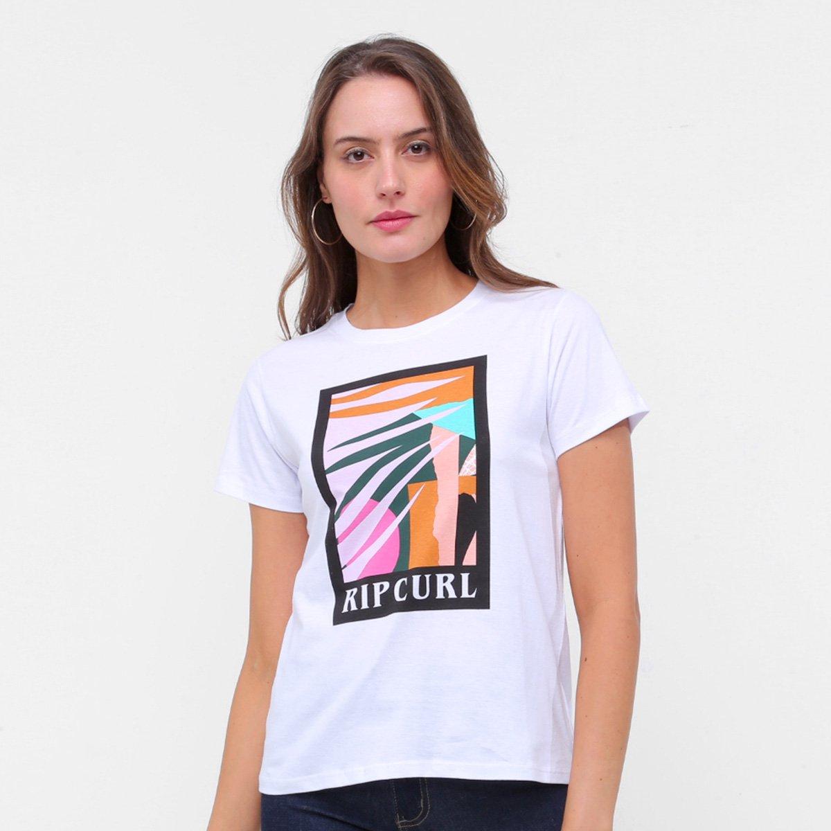 Camiseta Rip Curl Into The Abbyss Feminina