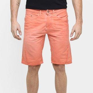 7df39113ab6af Bermuda Calvin Klein Tinturada Color Elastano