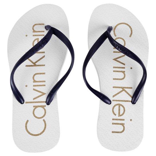 ff8b1cdd88d1b Chinelo Calvin Klein Logo - Compre Agora   Zattini