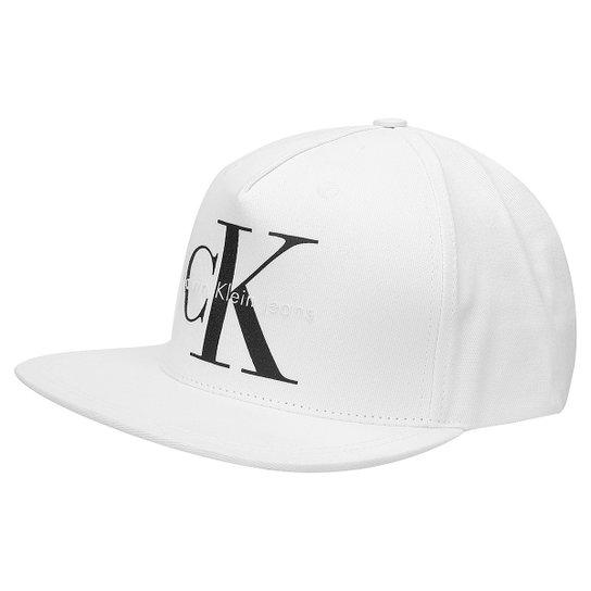 Boné Calvin Klein Logo CK - Compre Agora  309f4ede0a3