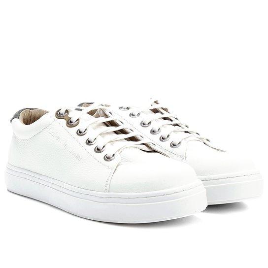 8f18c3944 Sapatênis Couro Calvin Klein Baixo Masculino - Compre Agora | Zattini