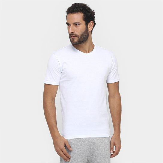 b104161c79 Camiseta Pijama Calvin Klein Gola V c  2 peças - Compre Agora