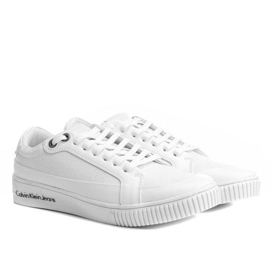 b63a9971b56 Sapatênis Calvin Klein Recortes Masculino - Compre Agora