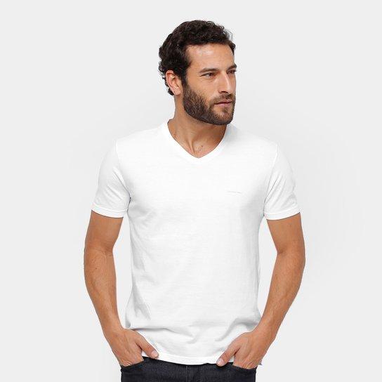 Camiseta Calvin Klein Gola V Básica Masculina - Compre Agora   Zattini 31e80446a2