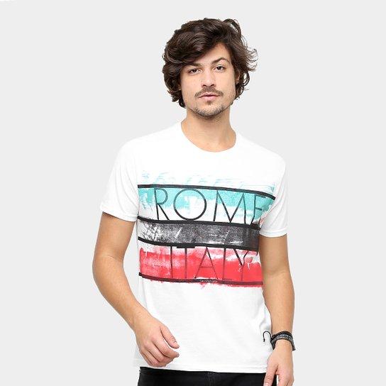 6472906094 Camiseta Calvin Klein Gola Careca Roma Masculina - Compre Agora ...