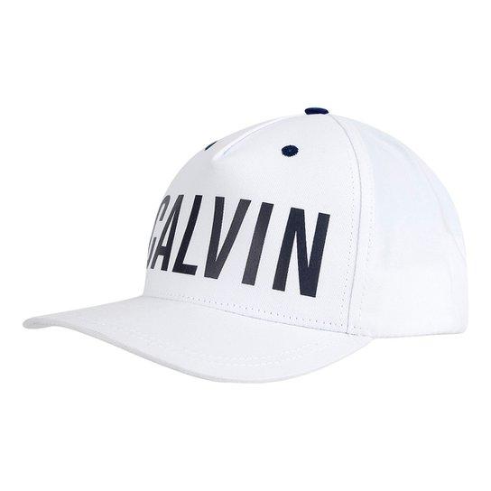 Boné Calvin Klein Aba Curva Básico Logo Masculino - Compre Agora ... 2a276640439