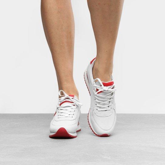 813081e30d8 Tênis Couro Calvin Klein Jogging Feminino - Compre Agora
