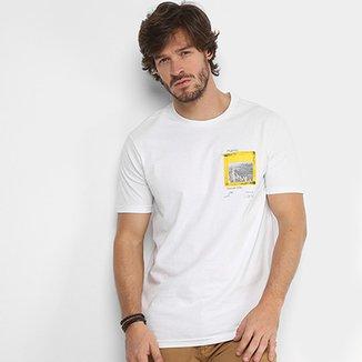 d61748b5e604b Camiseta Calvin Klein Estampada Masculina