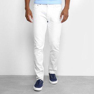 f0e4b8f29 Calça Slim Calvin Klein Color Sarja Masculina