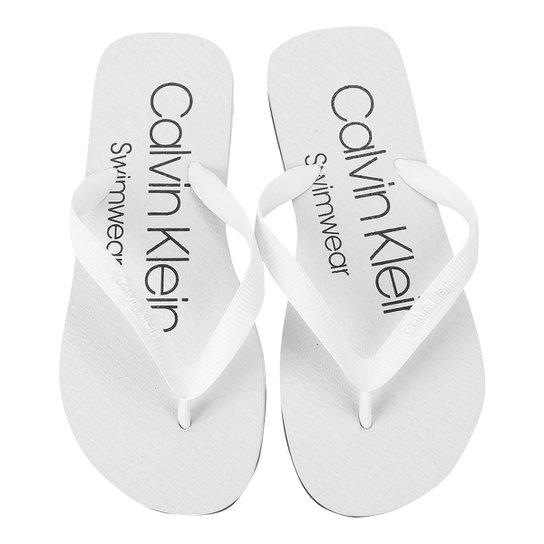 3944c70fcb3ea Chinelo Calvin Klein Swimwear Masculino - Compre Agora