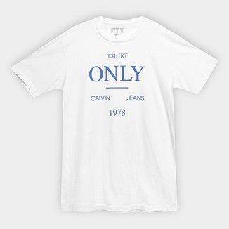 6fc499c4c5bba Camiseta Infantil Calvin Klein T-Shirt Only Masculina