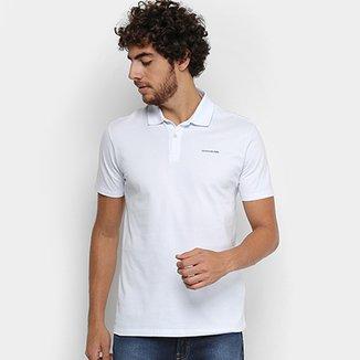 25b3dc235e86b Camisa Polo Calvin Klein Piquet Básica Masculina