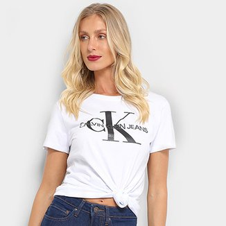 4db77e22c4a3b Blusas Calvin Klein - Ótimos Preços