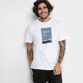 439679620f9a7 Camiseta Hurley The Line Grain Masculina