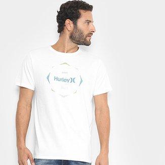 670380b66d206 Camiseta Hurley Silk Collide The Sky Masculina